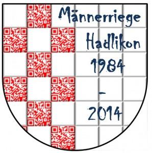 Hadlikon Wappen mit QR Code MRH